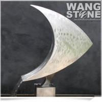 Fashion Fish Shape Stainless Steel Fountain Sculpture
