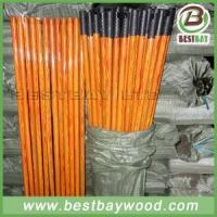 Wholesale PVC Coated Wood Broom Sticks PVC Cover Wooden Mop Stick from china suppliers