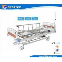 China CE FDA ISO Three Function Full Electric luxury Hospital Bed ABS , Aluminum Alloy wholesale