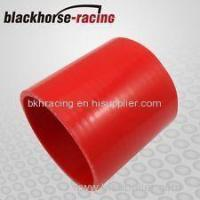 """Wholesale Black&Red 2"""" 51mm Straight Silicone Coupler Silicone Hose Pipe Silicone Intercooler Hose from china suppliers"""