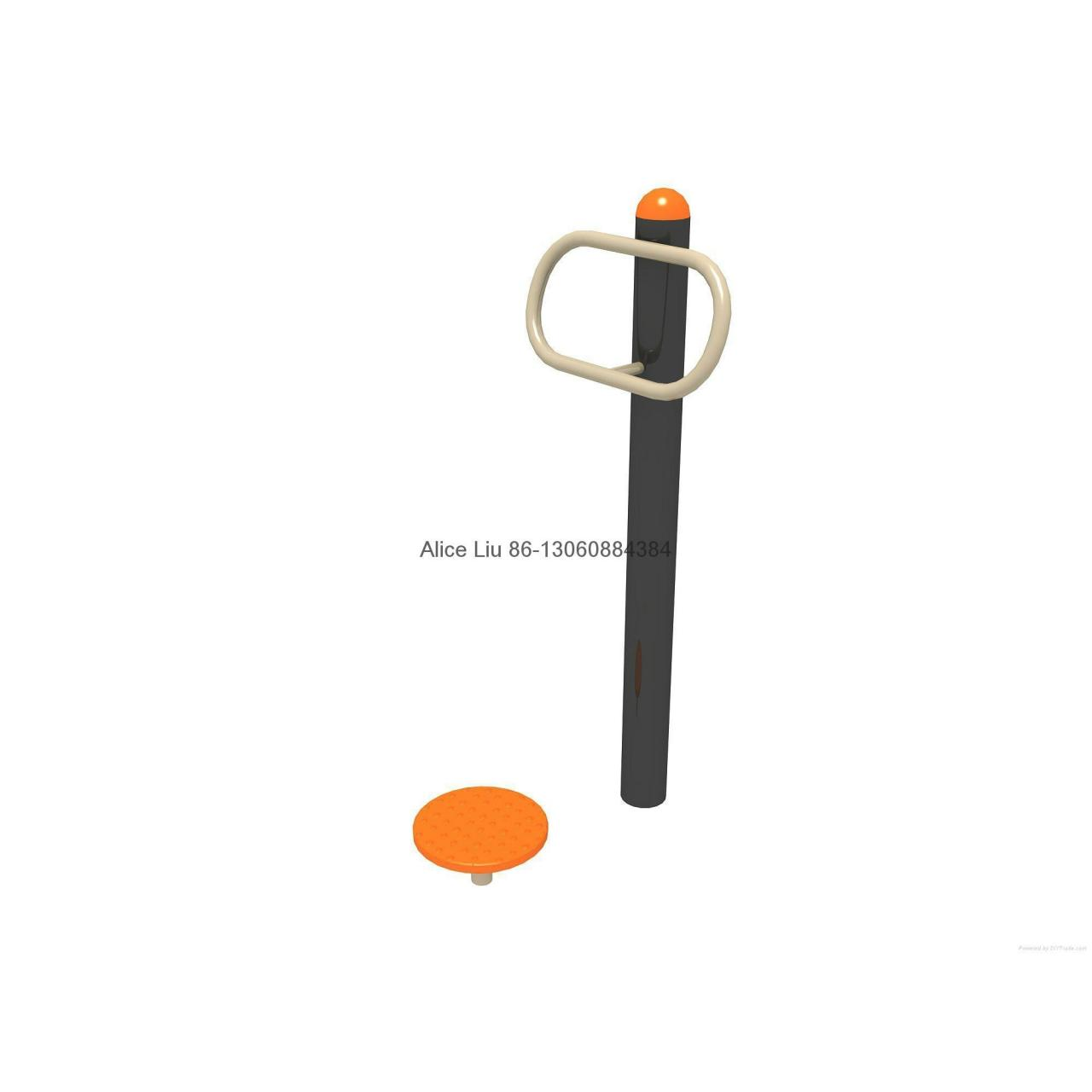 Wholesale Single Waister playground outdoor fitness equipment from china suppliers