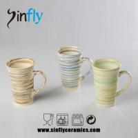 Wholesale art design coffee set of stoneware from china suppliers