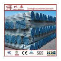 Wholesale Hot-dipped GI pipe with threaded and socket from china suppliers
