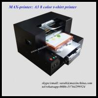 Wholesale MAX-printer A3 R1800 8 color dtg printer from china suppliers