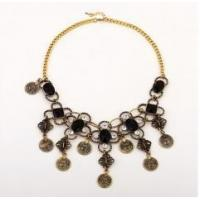 alloy flower necklace