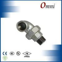 Wholesale Malleable iron pipe fitting Male and female union elbows,flat seat from china suppliers