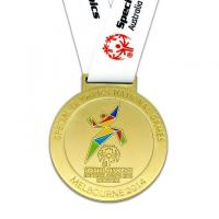 Wholesale high quality custom gold medal athletics from china suppliers