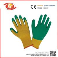 China Latex wrinkling gloves PVC coated gloves wholesale