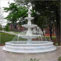 Wholesale Natural Stone Garden Three Layer Water Fountain from china suppliers