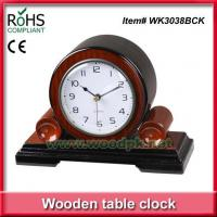 Wholesale WK3038BCKHigh glossy Antique (WK3038BCK) Quartz wooden Bedside Table clock from china suppliers