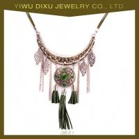 Wholesale Newest Arrival European Costume Jewelry Fashion Women Vintage Necklace with Tassel from china suppliers