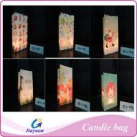 Fire-resistant paper candle bag