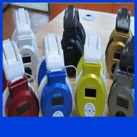 E011 Stereo Headphone MP3 Player Headset TF Card and Music Play Headset style Mp3 Player