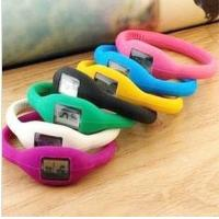 WH009 Fashion Silicone Rubber Bracelet Wrist Sports Watch Wholesale