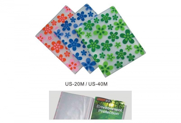 Quality Clear Book /Name Card File/CD ...(20) No.: P115 for sale