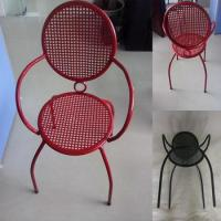 Wholesale Factory price metal Four leg office chair with armrest for working / conference/leisure from china suppliers