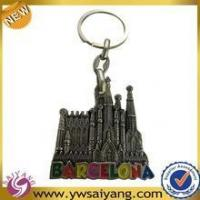 Wholesale High Quality Souvenir Custom Metal Keychain For Barcelona from china suppliers
