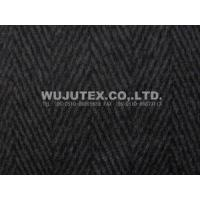 Wholesale 550g/sm Herringbone Winter Good Quality Twilled Woolen Fabric 50% Wool, 50% Polyester from china suppliers