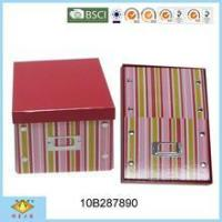 Wholesale Foldable Box Foldable Handmade Cardboard Storage Box from china suppliers