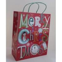 Wholesale Paper Bags Merry Christmas Gift Paper Tote Bag from china suppliers