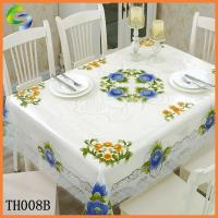 Wholesale INDEPENDENT PVC TABLE CLOTH PVC Table Cover from china suppliers