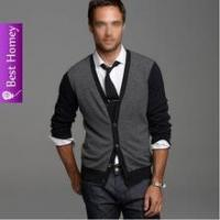 Sweater Mens cashmere cardigan with button SWT-M10102