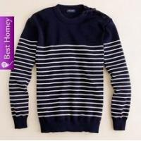 Mens cashmere sweaters ( round neck striped) pullover kintwear SWT-M10103