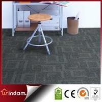 Wholesale Stock quality guaranteed 600g/m2 grey color PP carpet tiles square from china suppliers