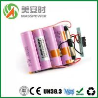 Wholesale lithium ion battery Product  24V 16Ah Li ion battery pack with high quality PCM from china suppliers
