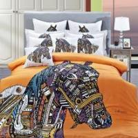 Wholesale 100% cotton reactive Printed bedding set from china suppliers