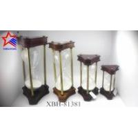New design triangle frame of wooden sand clock 30-60 minutes