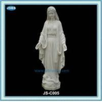 Wholesale cheap white marble statue of mother mary from china suppliers