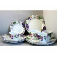 melamine dishware set 6012