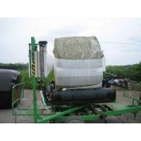 Wholesale Bales Wrapping PE Blue Silage Stretch Foil wrapping silage bales from china suppliers