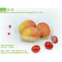 China Clear Clamshell Food Container HC-24(24oz) wholesale