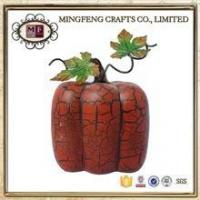 Holiday Products Harvest resin pumpkin ornament statues