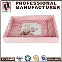 Wholesale New Box commercial bread trays , custom pu faux leather dinner burger trays from china suppliers
