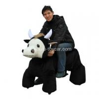 Wholesale big size plush animal ox from china suppliers
