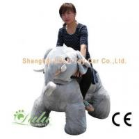 Wholesale Walking Animal Rides (big size) gray elephant toy car from china suppliers