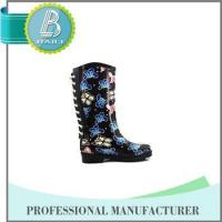 Wholesale Newest Design Butterfly Print Rain rubber shoes snow grips from china suppliers