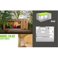 Wholesale Soundproof Prefabricated Garden Studio / Prefab Garden Shed For Garden Music Studio from china suppliers