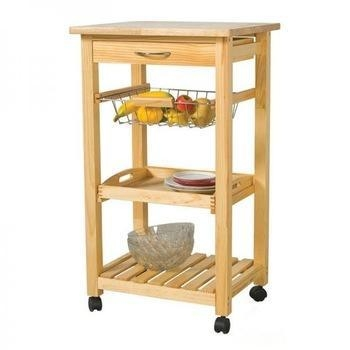 Kitchen trolley series wooden kitchen serving trolley cart for Kitchen trolley design