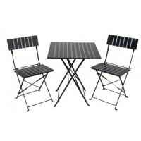 China Garden Furniture 3-Piece Steel Folding Bar Set wholesale
