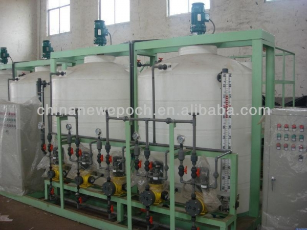 Sterilizationdisinfection automatic chemical dosing system Swimming pool chemical dosing system