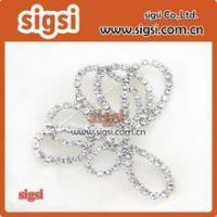 Wholesale Wholesale Crystal Glass Rhinestone Wedding Bridal Dress Buckle from china suppliers
