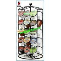 Wholesale Revoling K-Cup Coffee Carousel Rack Powder Coated from china suppliers