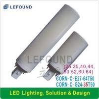 Wholesale Corn Light G24/E27 25 SMD5050 WhiteCircular section from china suppliers