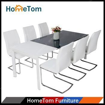Modern Dining Room Furniture Wooden Dining Table Sets With 6 Chairs Of Hometo