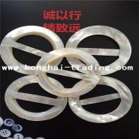 high quality white mop shell crafts for Belt Accessories