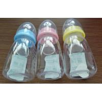 Silicone Baby Products Series Baby Feeding Bottle With Spoon